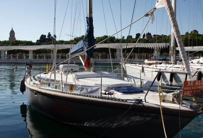 ecological-sailboat ISOFOTON sponsorship
